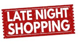 Late Night Shopping 28.05.19 von 19 – 22 Uhr